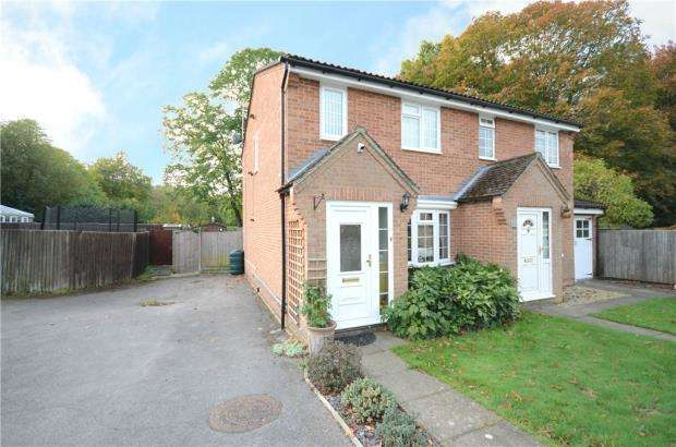 3 Bedrooms Semi Detached House for sale in Atrebatti Road, Sandhurst, Berkshire