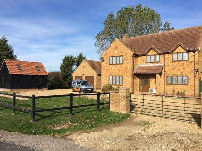 4 Bedrooms Detached House for sale in Holme Road, Ramsey St. Marys, Huntingdon, Cambridgeshire