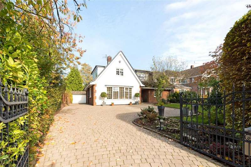 4 Bedrooms Detached House for sale in Bollin Hill, Wilmslow, Cheshire, SK9