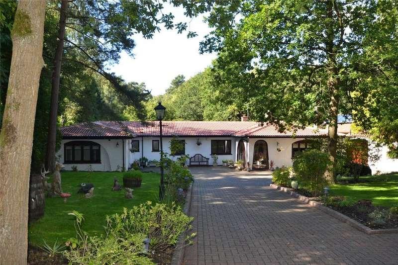 4 Bedrooms Detached House for sale in Hollybush Ride, Finchampstead, Wokingham, Berkshire, RG40