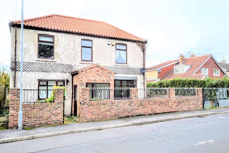 4 Bedrooms Detached House for sale in Pontefract Road, Wombwell, Barnsley, S73 0YG