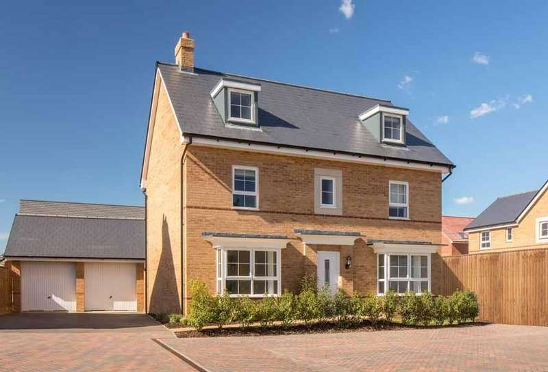 5 Bedrooms Detached House for sale in Marston Fields, Marston Moretaine, MK43
