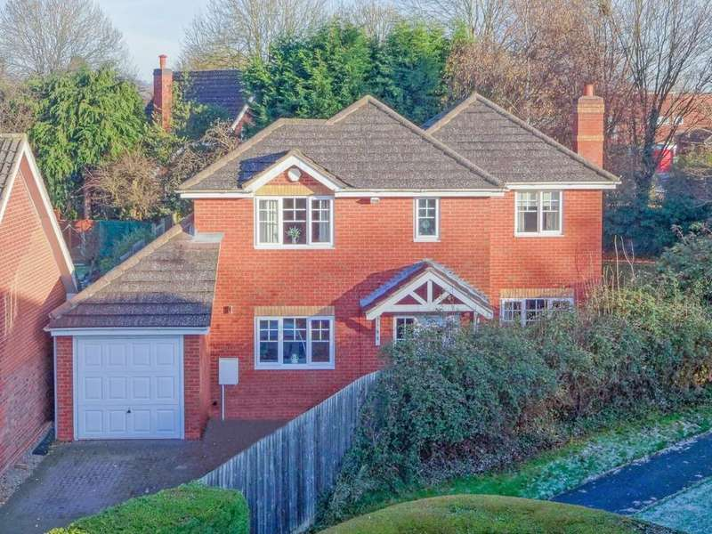 4 Bedrooms Detached House for sale in Tysoe Close, Ipsley, Redditch, B98 0TB