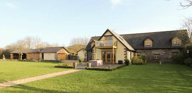4 Bedrooms Barn Conversion Character Property for sale in Llangeview, Usk, NP15