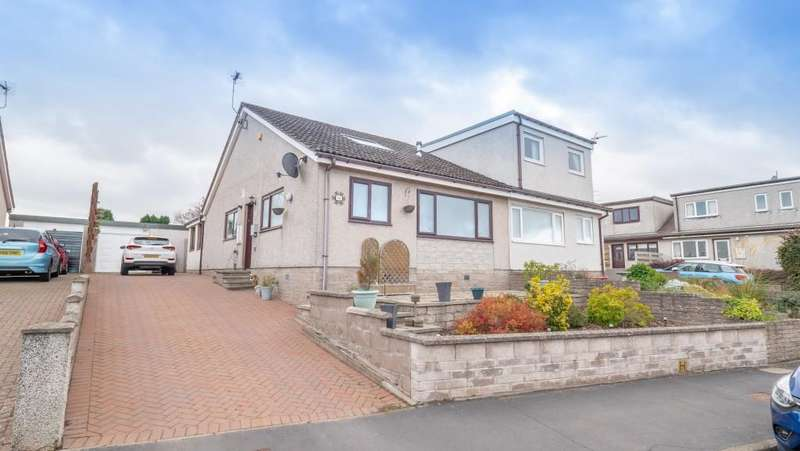 4 Bedrooms Semi Detached House for sale in Grampian View, Montrose