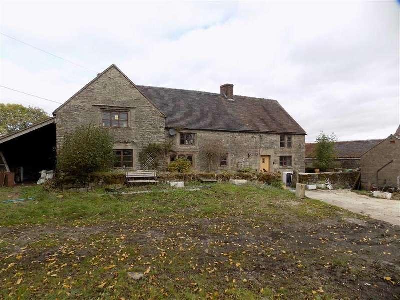 4 Bedrooms Detached House for sale in Grindon Nr Leek, Staffordshire