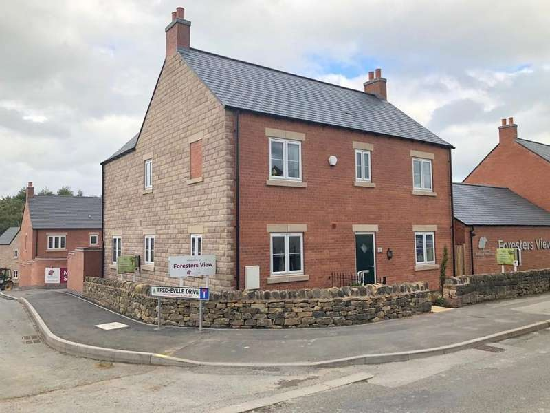 4 Bedrooms Detached House for sale in Frecheville Drive, Fritchley, Belper