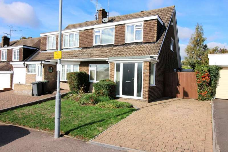 3 Bedrooms Semi Detached House for sale in Butely Road, Luton, Bedfordshire, LU4 9EX