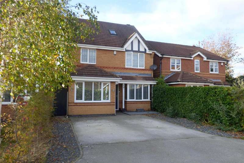 4 Bedrooms Detached House for sale in Amethyst Close, Rainworth, Mansfield