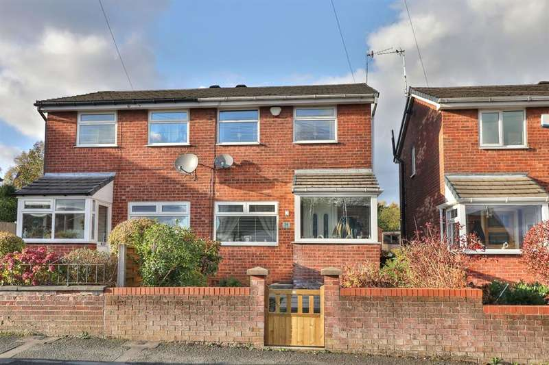 2 Bedrooms Semi Detached House for sale in James Street, Dearnley, Littleborough, OL15 8LT