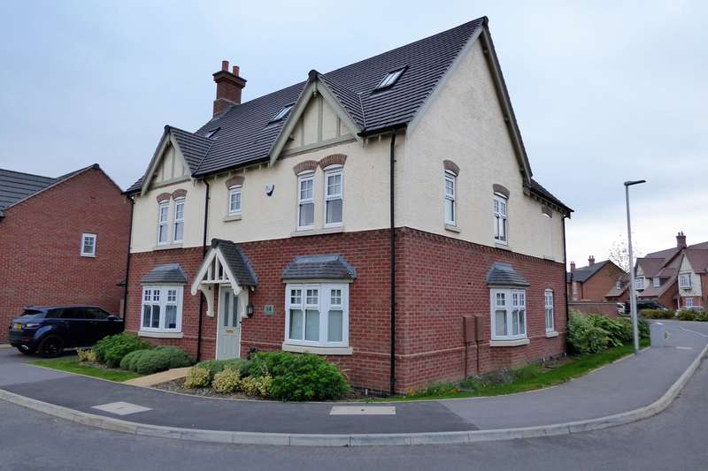5 Bedrooms Detached House for sale in Baskerville Road, Heritage View, Nuneaton, CV11