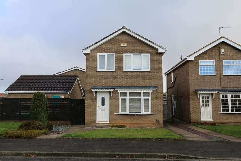 3 Bedrooms Detached House for sale in Biddick Close, Stockton-on-Tees, Durham, TS19 0UJ
