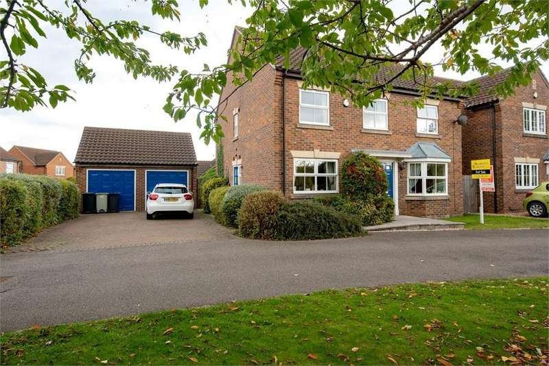 4 Bedrooms Detached House for sale in Church Walk, Sibsey, Boston, Lincolnshire