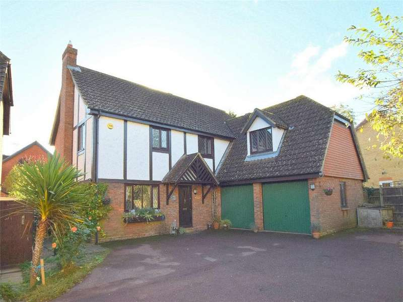 4 Bedrooms Detached House for sale in Tawny Crescent, Hartford, Huntingdon, Cambridgeshire