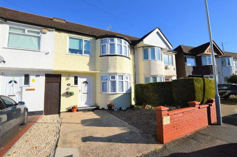 3 Bedrooms Terraced House for sale in Browning Road, Luton, Bedfordshire, LU4 0LE