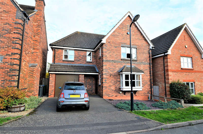 5 Bedrooms Detached House for sale in Rowe Close, Hillmorton, Rugby