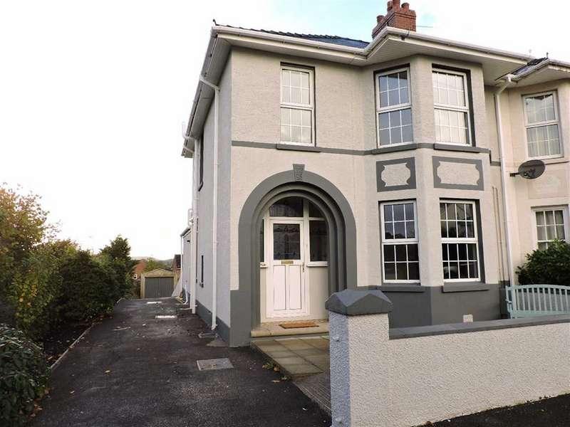 3 Bedrooms Semi Detached House for sale in Steele Avenue, Carmarthen