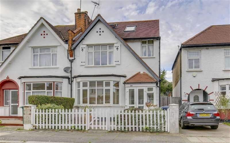 4 Bedrooms Semi Detached House for sale in Cromwell Road, Finchley, London, N3
