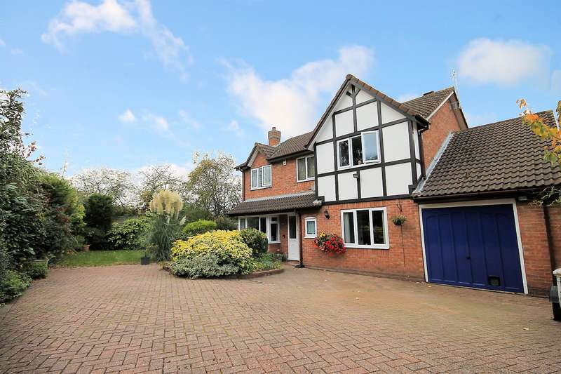5 Bedrooms Detached House for sale in Montley, Wilnecote, Tamworth, B77 4JF