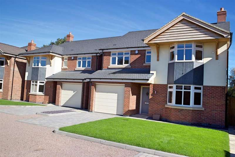 5 Bedrooms Detached House for sale in Burbage Road, Burbage, Hinckley