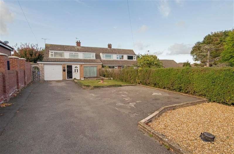 3 Bedrooms Semi Detached House for sale in Upper Bryn Coch, Mold