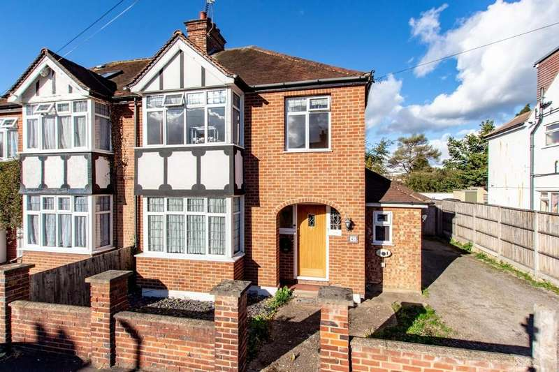 3 Bedrooms Semi Detached House for sale in King Georges Avenue, West Watford