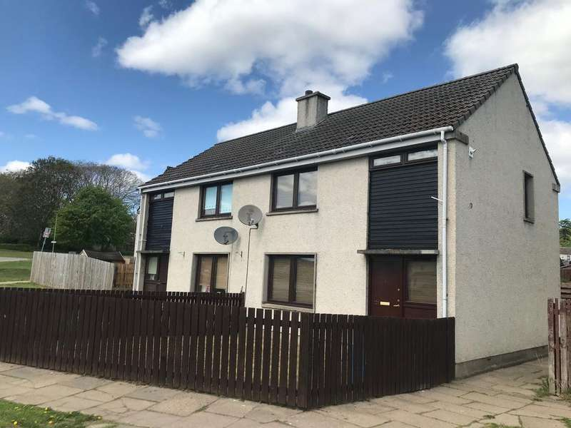 2 Bedrooms Semi-detached Villa House for sale in Kirside, Alness IV17