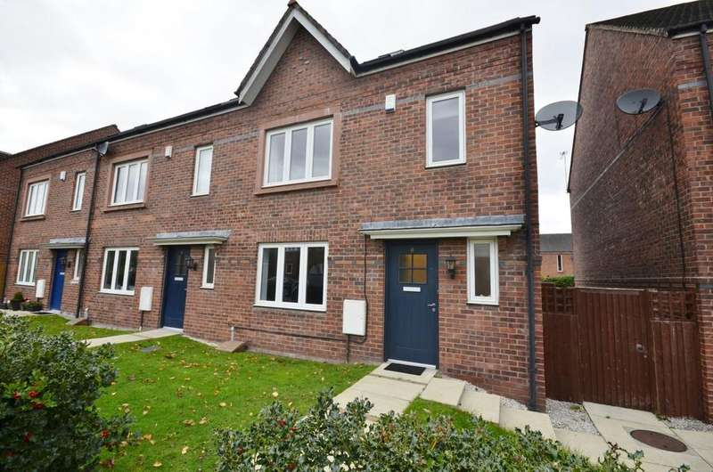 4 Bedrooms End Of Terrace House for sale in Turnbull Road, West Timperley, Altrincham