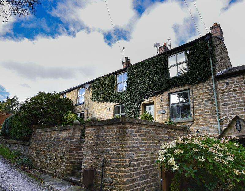 3 Bedrooms Cottage House for sale in MIDWAY COTTAGE, Bamford, Rochdale OL11 5LF