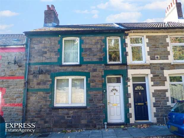 2 Bedrooms Terraced House for sale in Alexandra Road, Six Bells, Abertillery, Blaenau Gwent
