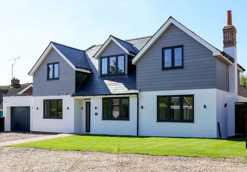 5 Bedrooms Detached House for sale in Rosebery Road, Tokers Green, Reading, RG4