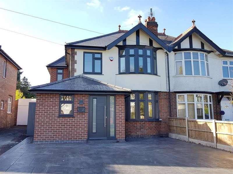 4 Bedrooms Semi Detached House for sale in Corden Avenue, Mickleover, Derby