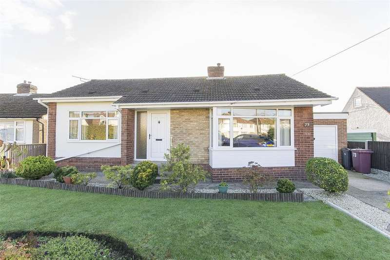 2 Bedrooms Detached Bungalow for sale in St. Lawrence Road, North Wingfield, Chesterfield