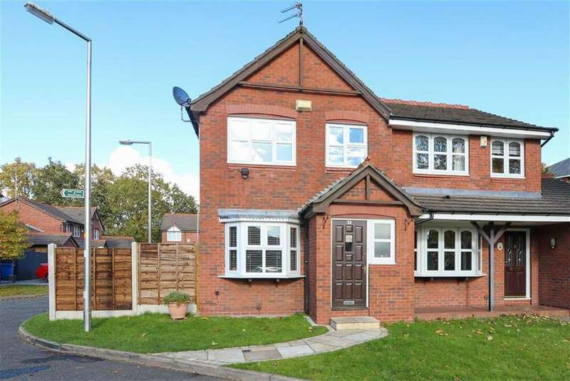 3 Bedrooms Semi Detached House for sale in Cuthbert Road, Cheadle, Cheshire