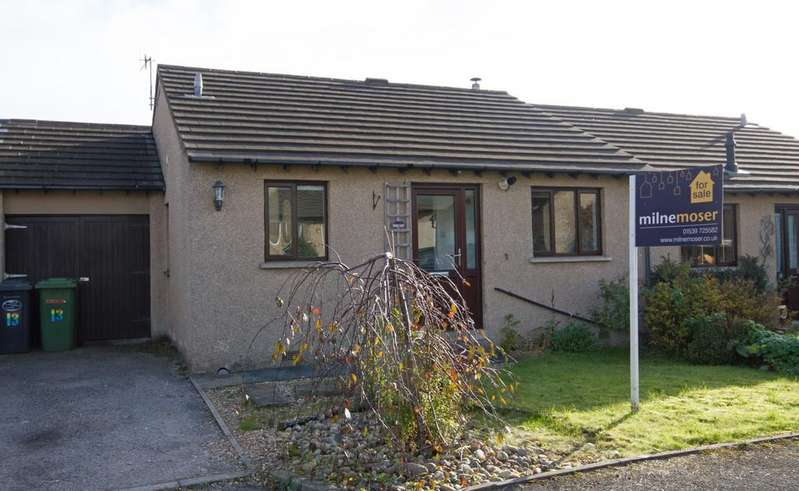 3 Bedrooms Semi Detached Bungalow for sale in Chambers Close, Kendal, Cumbria
