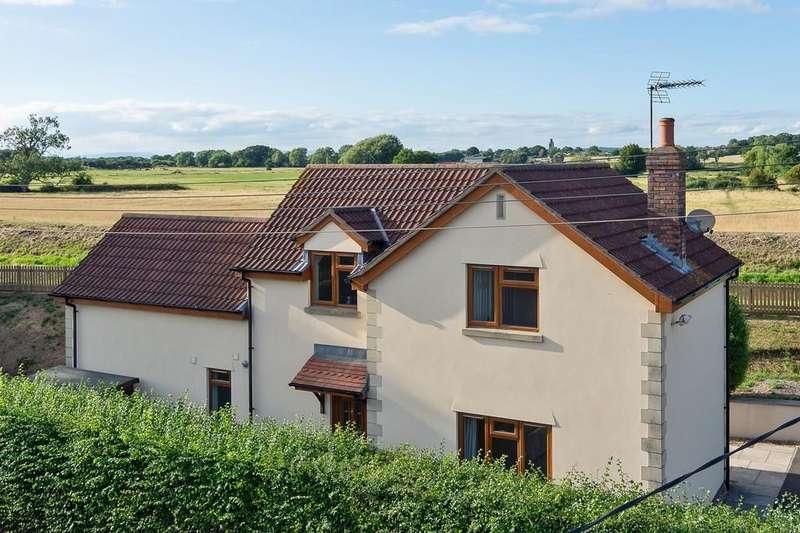 3 Bedrooms Detached House for sale in Amazing views in Congresbury