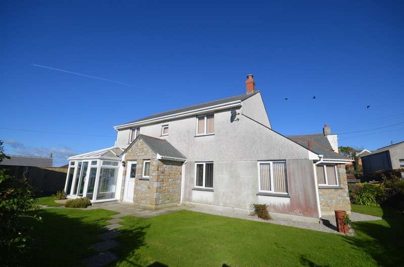 3 Bedrooms Detached House for sale in Cubert, Newquay
