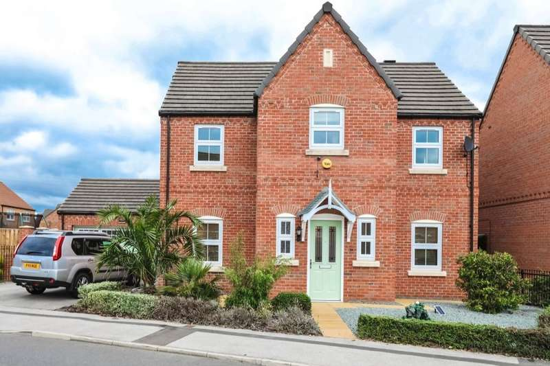 4 Bedrooms Detached House for sale in Roebuck Chase, Wath-Upon-Dearne, Rotherham, S63