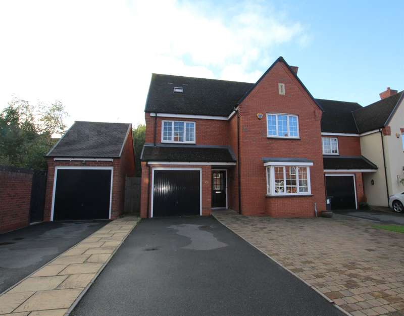 5 Bedrooms Detached House for sale in Stoney Leasow, Birmingham Road, Sutton Coldfield, B72 1BZ