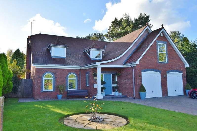 4 Bedrooms Detached House for sale in Kingswood Drive, Darras Hall, Newcastle upon Tyne, NE20