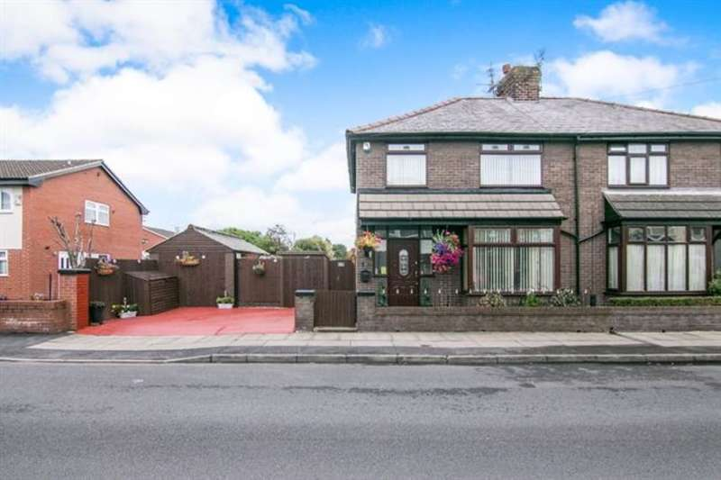 3 Bedrooms Semi Detached House for sale in Queensway, Liverpool, L22