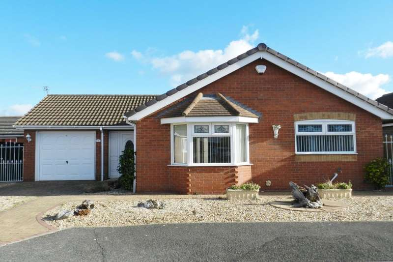2 Bedrooms Detached Bungalow for sale in Tennyson Close, Sutton-On-Sea, Mablethorpe, LN12