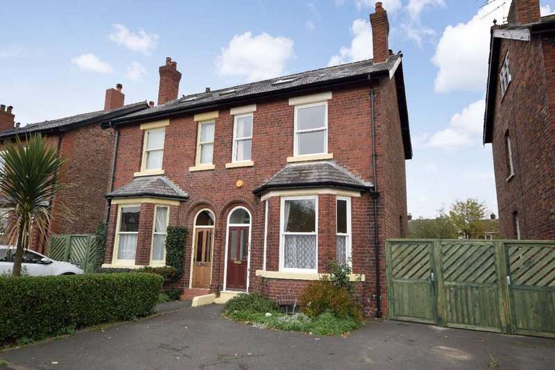 4 Bedrooms Semi Detached House for sale in Northenden Road, Gatley