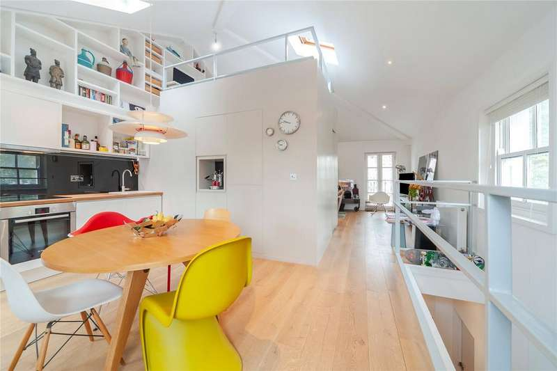 Flat for sale in Agar Grove, London