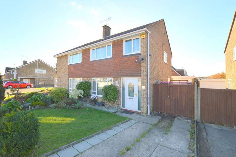 3 Bedrooms Semi Detached House for sale in Turnpike Drive, Warden Hills, Luton, LU3 3RE