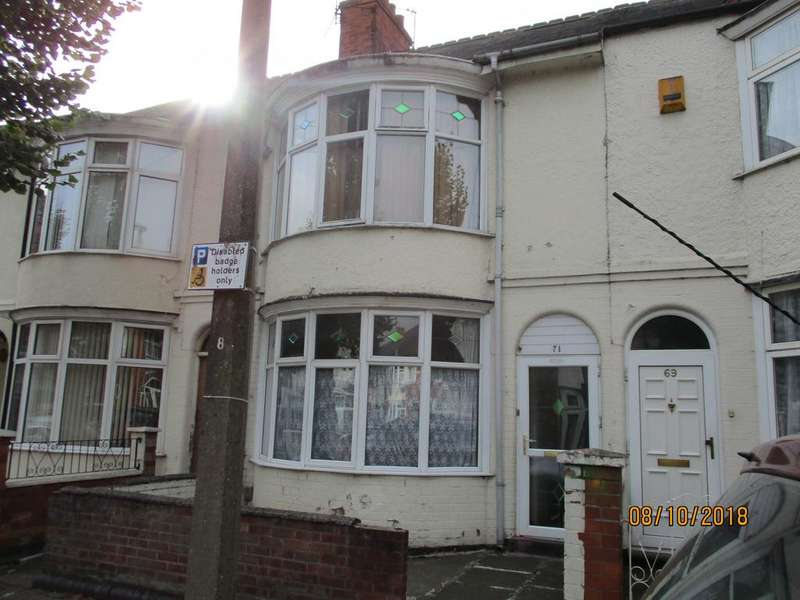 4 Bedrooms Terraced House for sale in Windsor Avenue, Leicester, Leicestershire, LE4