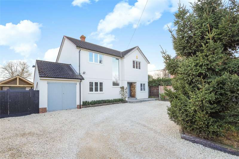4 Bedrooms Detached House for sale in Croft Road, Spencers Wood, Reading, Berkshire, RG7