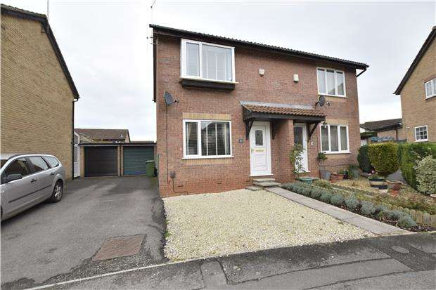 2 Bedrooms Semi Detached House for sale in Fox Court, Longwell Green, BS30 7DN