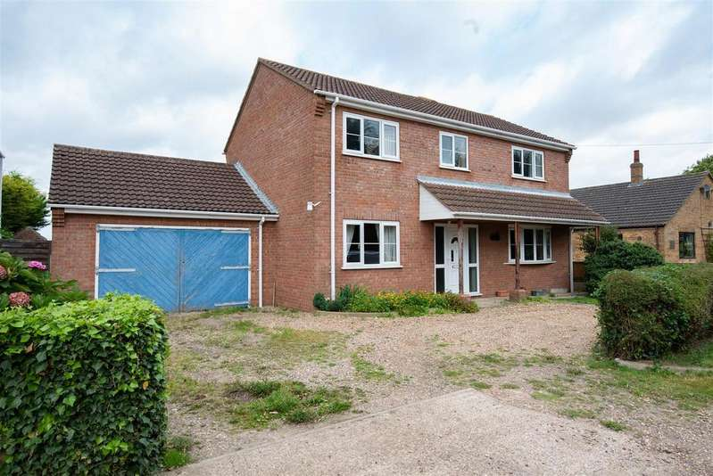 4 Bedrooms Detached House for sale in Ferry Lane, Brothertoft, Boston