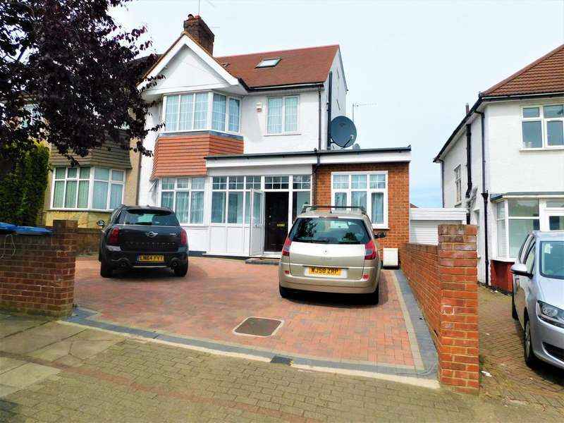 4 Bedrooms Semi Detached House for sale in Kingsmere Park, Kingsbury, NW9